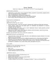 cv work history examples employment history template precis format work letter free templates