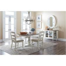 1776 66t jofran furniture castle hill antique white dining room dining table