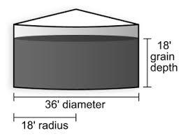 Silo Capacity Chart How To Estimate Bushels In A Round Grain Bin Cropwatch