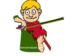 Music Animated Clipart Playing_violin_cc