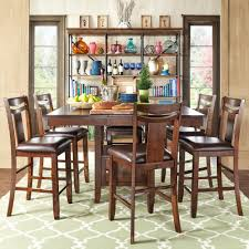 marsden rustic brown mission counter height extending dining set by inspire q clic on today overstock 7295834