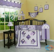 purple baby bedding boutique brand new geenny lavender