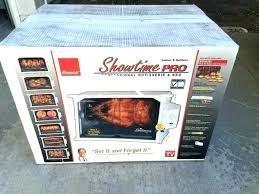Ronco Rotisserie Cooking Time Chart Showtime Rotisserie Cooker Waxfit Co