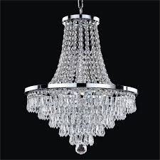 french empire crystal chandelier vista 628t by glow lighting