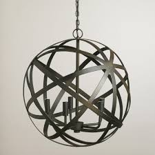 metal sphere unique chandelier brilliant unique hanging lights with metal wire shades also shiny