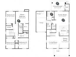 Spacious Floor Plans  Military Hawaii  Hickam Communities4 Bedroom Duplex Floor Plans
