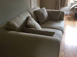cream sofas mint condition