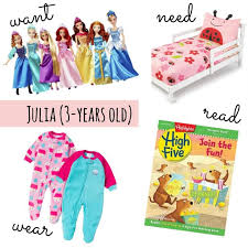 Want, Need, Wear, Read For a 3-Year-Old Girl - Jessica Lynn Writes