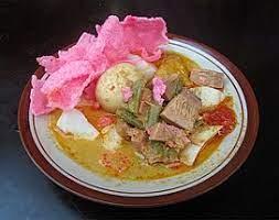 Satu jenis makanan ini adalah salah satu jenis makanan yang bisa saja dikonsumsi kapanpun anda mau. Lontong Sayur Wikipedia