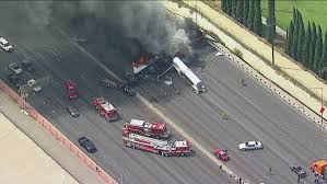 Big rig driver identified after being killed in fiery multi-vehicle ...