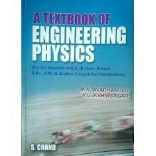 A Textbook of Engineering Physics - Avandhanulu, Kshirsagar