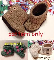 Crochet Baby Booties Pattern 3 6 Months