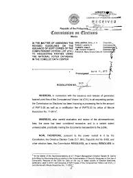 Comelec Res No 9655 Amending The Revised Guidelines On The