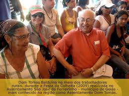 Resultado de imagem para Dom Tomás Balduíno apoia o MST