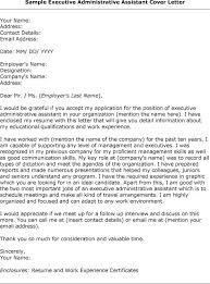 Cover Letter Template Admin Assistant | Tomyumtumweb.com