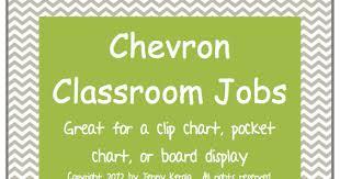 Happy Literacy Monday Made It Classroom Jobs Clip Chart