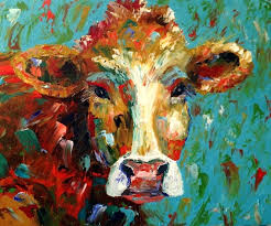 cow painting on canvas colorful cow paintings on canvas paint color ideas landscape painting canvas sizes