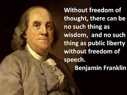 Benjamin Franklin Quotes Enchanting Occasional Quotes Benjamin Franklin On Freedom Of Thought