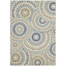safavieh veranda power loomed 8 x 11 2 runner area rug cream green only