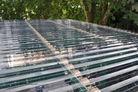 corrugated clear plastic roofing sheets b q and place