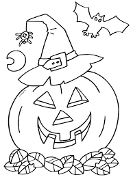 Tổng Hợp Mẫu In Và Tô Màu Halloween Bé Tư Duy