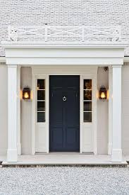 Black Door With Sidelights Design Ideas