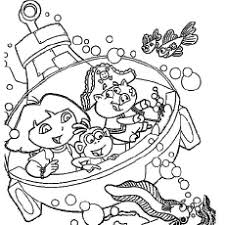 Small Picture Dora Coloring Pages Free Printables MomJunction