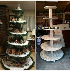 Christmas Tree Village Display Stands 100 Unique Christmas Village Display Ideas On Pinterest intended 50