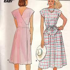 Apron Dress Pattern Amazing Class Wrap Apron Dress Walkabout Walkaway From Adele Bee Ann