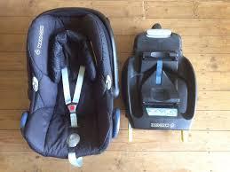 maxi cosi cabriofix baby car seat black jacquard optional easyfix isofix or
