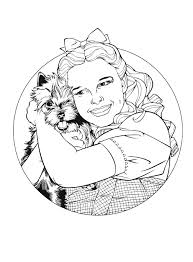 Small Picture Kids n funcom 29 coloring pages of Wizard of Oz