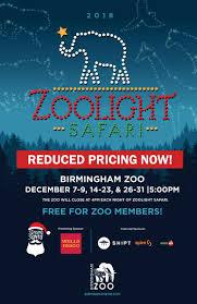 Birmingham Zoo Lights 2018