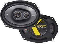 speakers kicker. kicker cs series 6x9\ speakers (