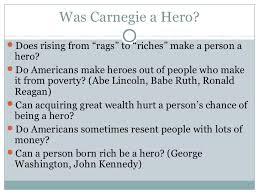 industrial revolution 11 background essay was andrew carnegie