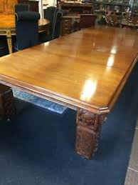 High Quality Image Is Loading Antique Very Large Long Oak Dining Table 12