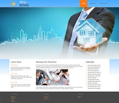 real estate real estate joomla template