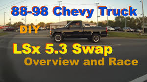 88-98 Chevy Truck 5.3 LS Swap Parts Overview - Richard Wiley's OBS ...