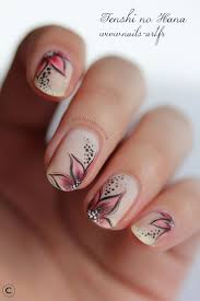 Uncategorized Beautiful Flowers Nail Art Autumn Designs For Short ...