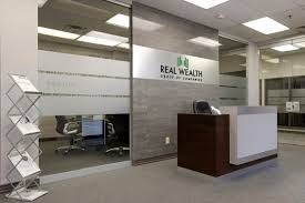 company office design. Real Wealth Group Is A Fully Integrated Financial Services Company Located In Vaughan, Ontario. The Scope Of This Project Was To Provide Functional And Office Design E