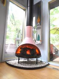 Malm fireplace  a touch of fabulous retro chic indoors and outdoors