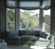 curved sofa for bay window - Google Search