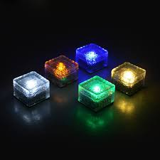 Lights The Ice Pack Lohome Solar Glass Brick Lights Pack Of 6 Path Led Lights