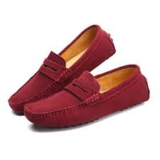 men loafers fashion summer style soft moccasins genuine leather shoes men flats driving shoes b07fccv5y1