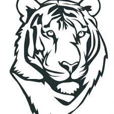 Small Picture Printable Tiger Coloring Pages Me Face Pages adult