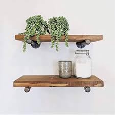industrial iron pipe shelf brackets