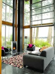 modern country living rooms. Modern Country Living Room With Contemporary Fireplace Design For Newly Look Rooms Y