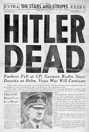 world war ii death of adolf hitler