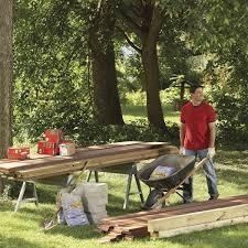 Floating Deck Designs Backyard Decks Build An Island Deck Family Handyman
