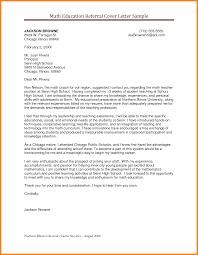 Letter Of Recommendation Math Teacher Sample