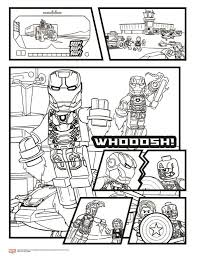 Small Picture Kids n funcouk 15 coloring pages of Lego Marvel Avengers